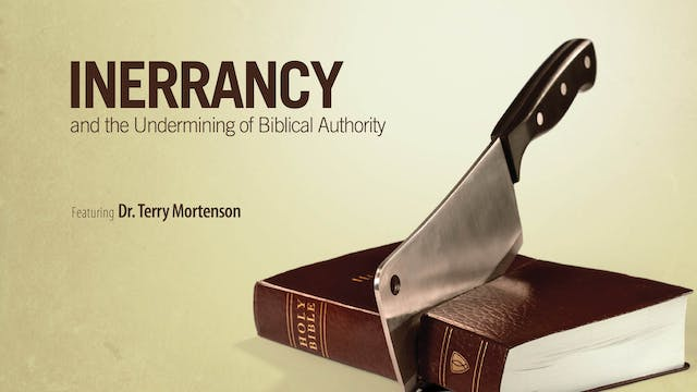 Inerrancy and the Undermining of Bibl...