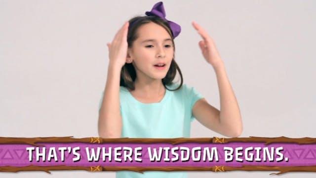 Wisdom Begins