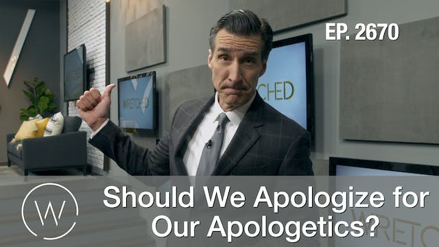 Should We Apologize for Our Apologetics?