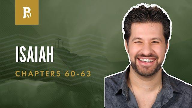 Praise the LORD!; Isaiah 60-63