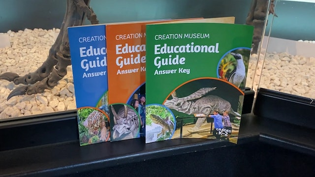 Homeschooling with Creation Museum Educational Guides