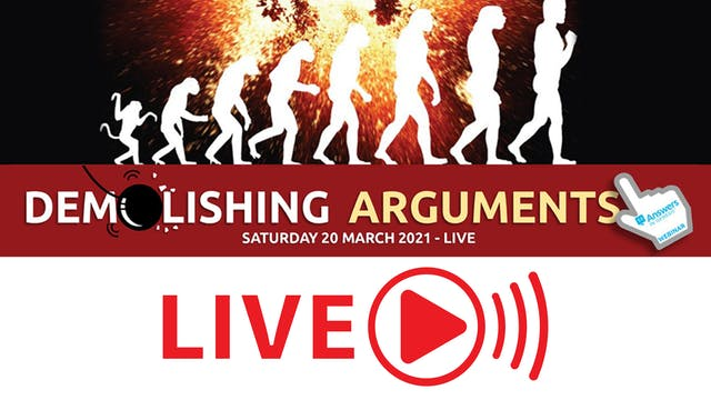 Demolishing Arguments Livestream