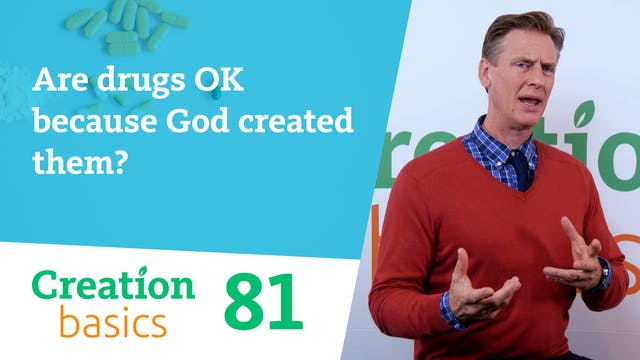Are drugs OK, because God created them?