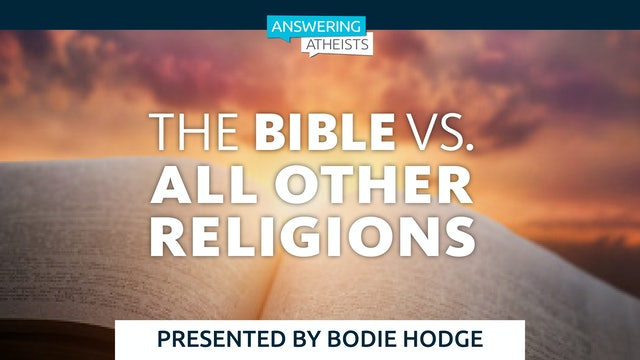 The Bible vs. All Other Religions
