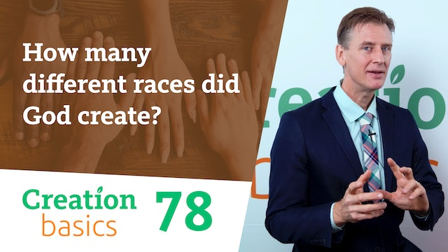 How many different races did God create?