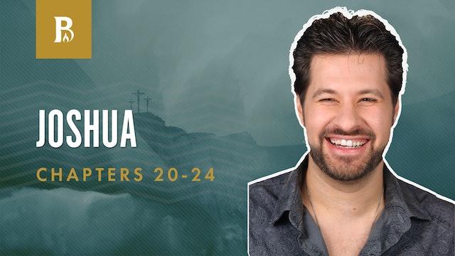 God's Power; Joshua 20-24