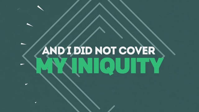 I Will Confess (Psalm 32:5)