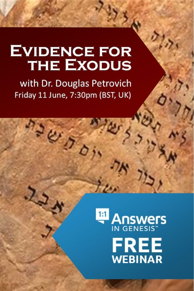 Evidence for the Exodus