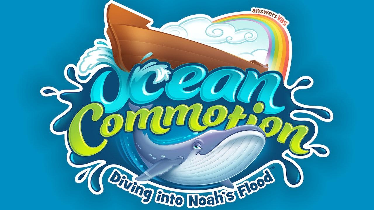 Ocean Commotion Contemporary Memory Verse Songs