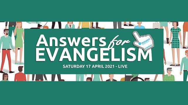 Answers for Evangelism Webinar