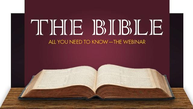 The Bible Webinar (5th December 2020)