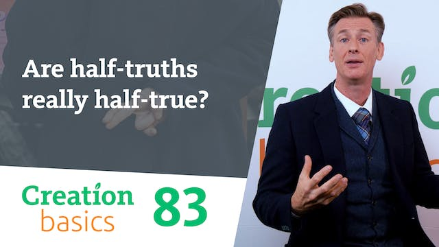 Are half-truths really half-true?
