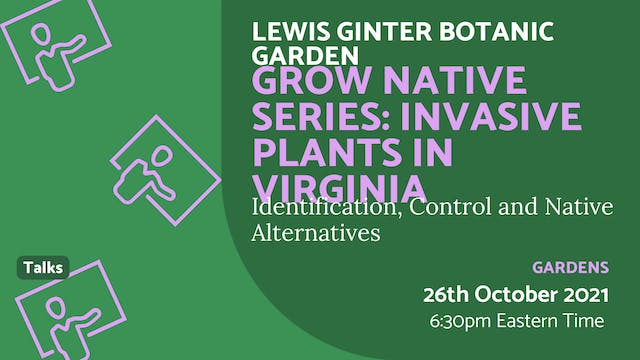 21.10.26 (Tue Oct 26th) | Grow Native...