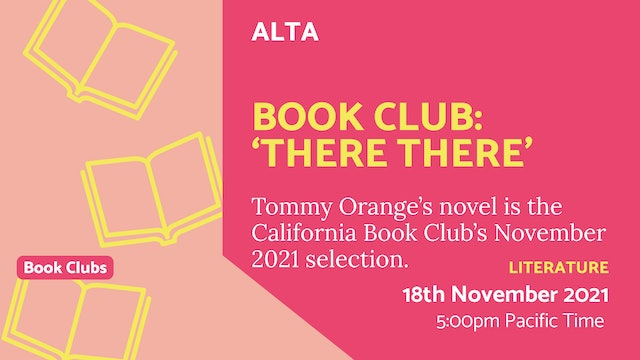 21.11.18 (Thu Nov 18th) | Book Club: 'There There'