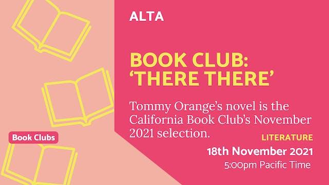 21.11.18 (Thu Nov 18th) | Book Club: ...