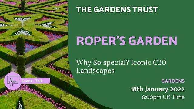 22.01.18 (Tue Jan 18th) | Roper's Garden