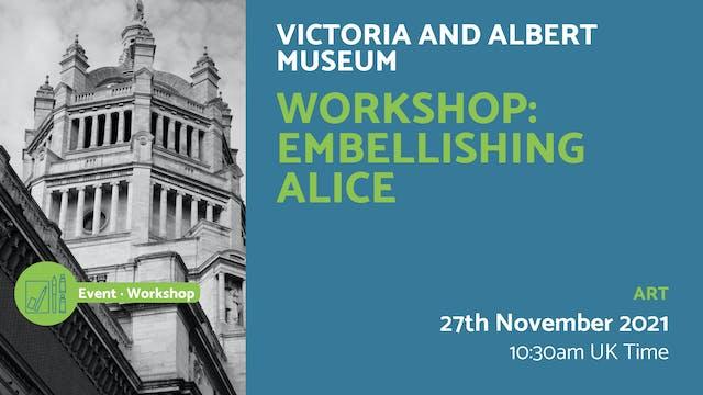 21.11.27 (Sat Nov 27th)   Workshop: E...