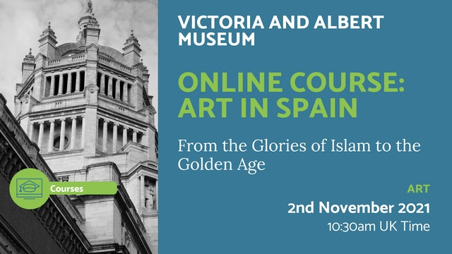 21.11.02 (Tue Nov 2nd)   Online Course: Art in Spain