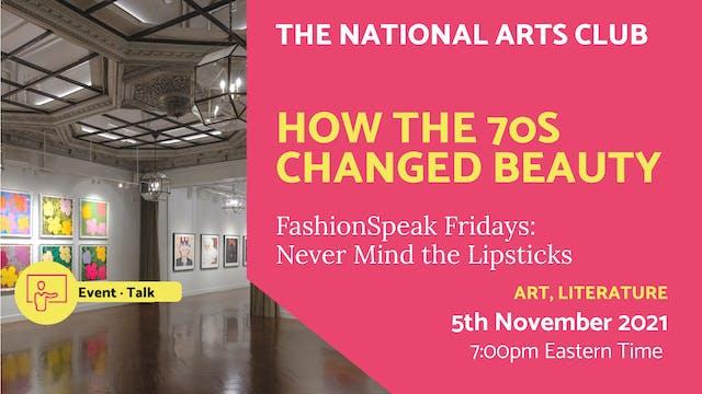 21.11.05 (Fri Nov 5th) | How the 70s ...