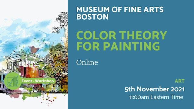 21.11.05 (Fri Nov 5th) | Color Theory...