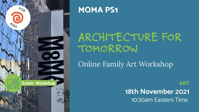 21.11.18 (Thu Nov 18th)   Architecture for Tomorrow