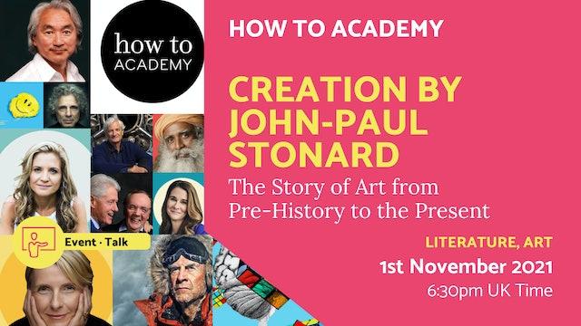 21.11.01 (Mon Nov 1st)   Creation by John-Paul Stonard