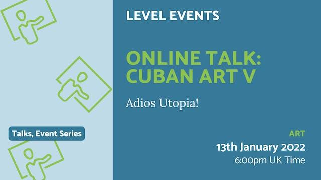 22.01.13 (Thu Jan 13th) | Online Talk...