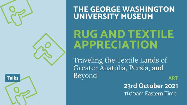21.10.23 (Sat Oct 23rd) | Rug and Tex...