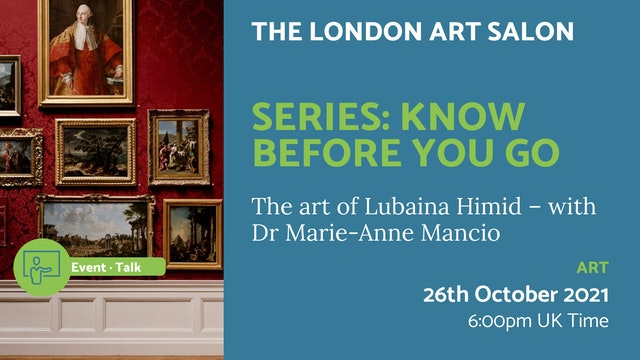 21.10.26 (Tue Oct 26th)   Series: Know before you go