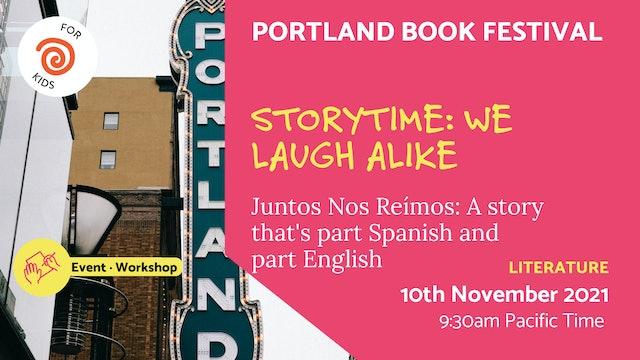 21.11.10 (Wed Nov 10th)   Storytime: We Laugh Alike