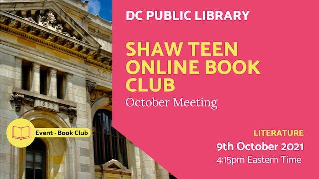 21.10.09 (Sat Oct 9th)   Shaw Teen On...