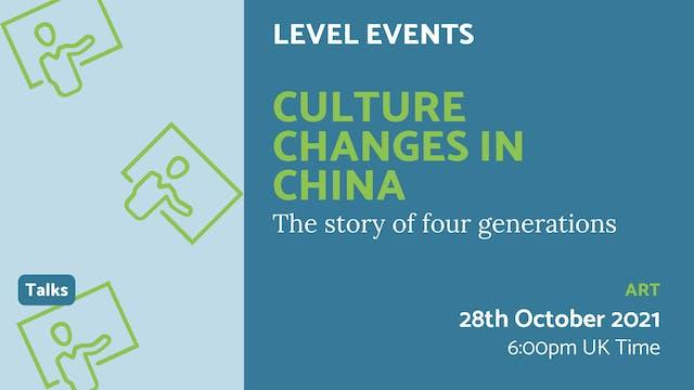 21.10.28 (Thu Oct 28th) | Culture Cha...