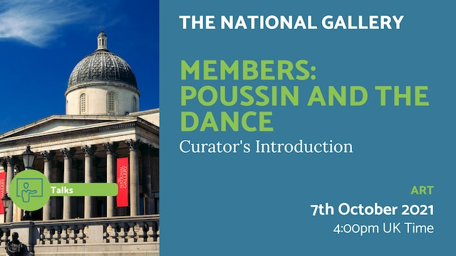 21.10.07 (Thu Oct 7th)   Members: Poussin and the Dance
