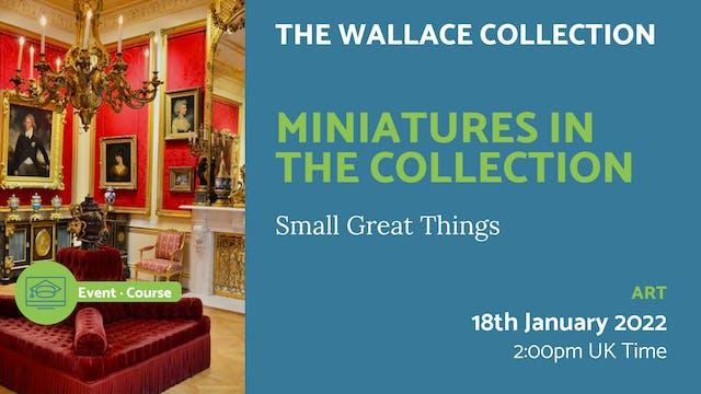22.01.18 (Tue Jan 18th) | Miniatures ...