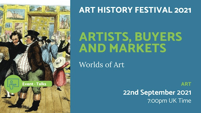 21.09.22 (Wed Sep 22nd)   Artists, Buyers and Markets