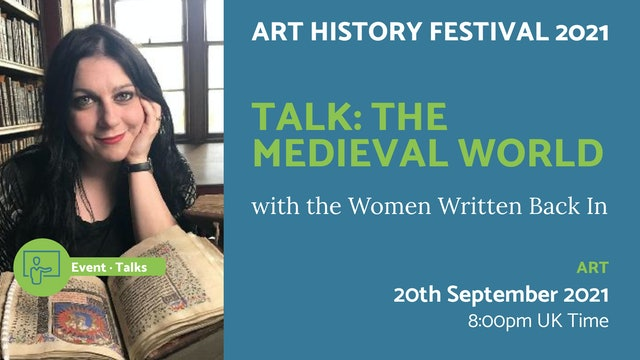 21.09.20 (Mon Sep 20th) | Talk: The Medieval World