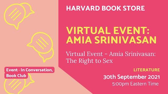 21.09.30 (Thu Sep 30th) | Virtual Eve...