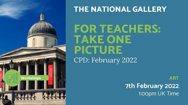 22.02.07 (Mon Feb 7th) | For Teachers...
