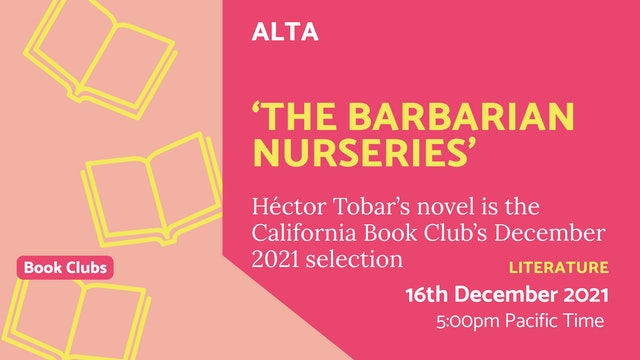 21.12.16 (Thu Dec 16th) | 'The Barbarian Nurseries'