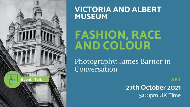 21.10.27 (Wed Oct 27th) | Fashion, Race and Colour