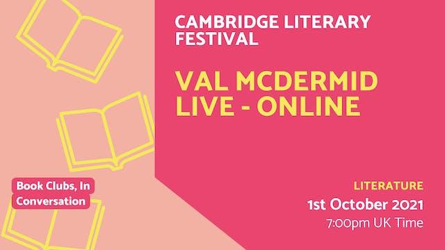 21.10.01 (Fri Oct 1st) | Val McDermid...
