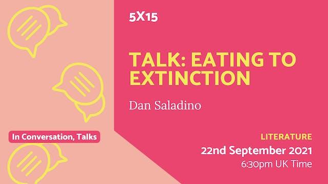 21.09.22 (Wed Sep 22nd)   Talk: Eatin...