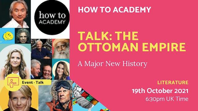 21.10.19 (Tue Oct 19th) | Talk: The O...
