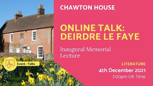 21.12.04 (Sat Dec 4th)   Online Talk:...