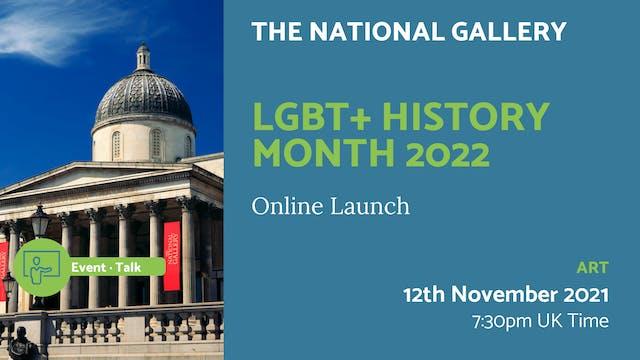 21.11.12 (Fri Nov 12th) | LGBT+ Histo...