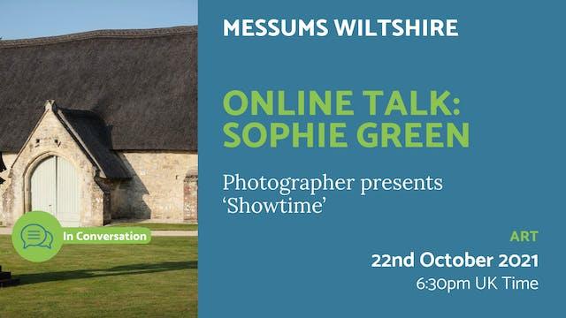21.10.22 (Fri Oct 22nd)   Online Talk...