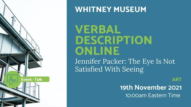 21.11.19 (Fri Nov 19th) | Verbal Desc...