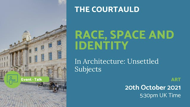 21.10.20 (Wed Oct 20th) | Race, Space...