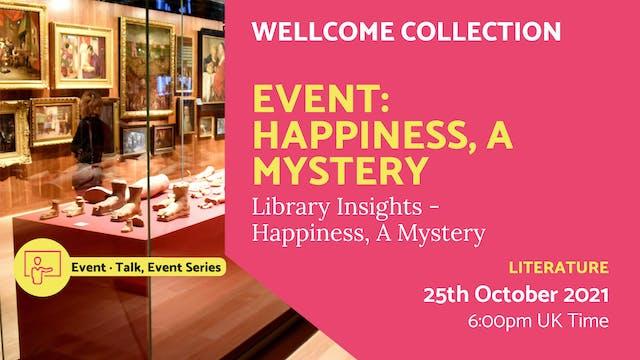 21.10.25 (Mon Oct 25th) | Event: Happ...