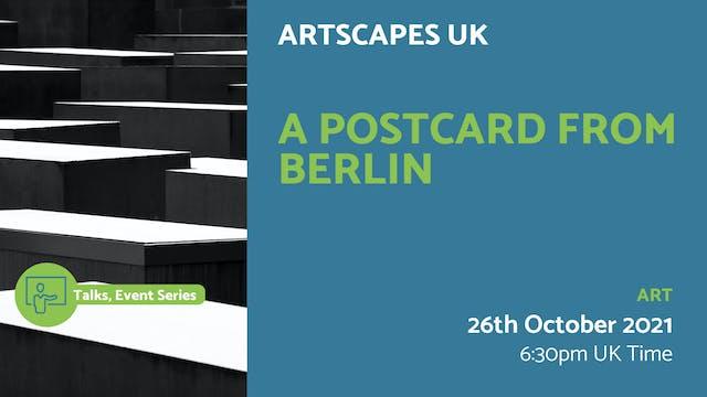 21.10.26 (Tue Oct 26th) | A Postcard ...